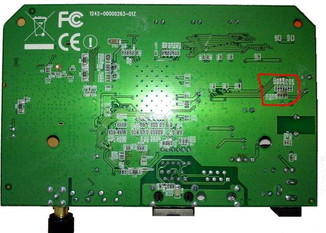 Location of ICFG(13) register on Edimax 7206APg Clone (LogiLink WL0027)