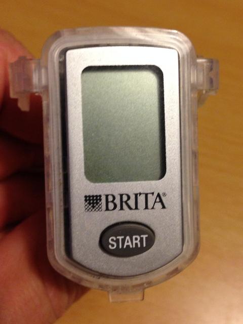 Brita Meter Batterie wechsel   Livediesel Blog